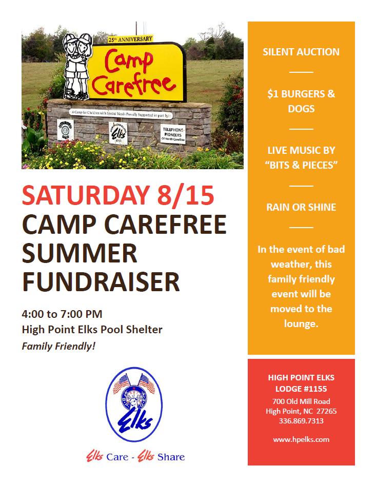 2015-08-15 Camp Carefree Fundraiser